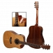 Kadence Slowhand Series Premium Acoustic Guitar, Solid Wood Spruce Top