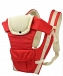 Hands-Free 4-in-1 Baby Carrier with Comfortable Head Support & Buckle Straps