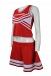 CH169 Custom Red Vest Cheer Costume