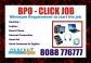 BPO job Earn daily 12$ from home | 8088776777 |Training Provided | Bangalore online jobs