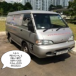 VAN WITH HELPER & DRIVER FOR REMOVAL SERVICES CALL JOAN 66525203