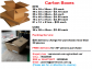 Need Carton Boxes For Your Home/Office Removal? We Sell New & Used Carton Boxes