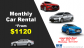 Singapore Car Rental Services