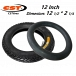 12 Inch Electric Scooter Inner Tube / Tires (Fiido, DYU, AM Tempo)