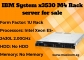 IBM System x3530 M4 Rack server for sale in Singapore