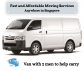 Van with 2 men for $80 (please call +65 8141 0059)