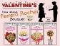 Ferrero Rocher bouquet for valentine - customized it yourself