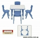 Preschool Tables & Plastic Chairs for sale, perfect for Kindergarten At Avios Solution