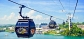 Cable Car cheap ticket discount promotion 2 ways and Sentosa line Aquarium trick eye Universal studi