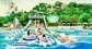 Adventure cove water park cheap ticket discount Sentosa Universal Studios Aquarium cable Car sentosa