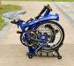 Foldable Aluminium Bike Trifold Brompton Design