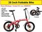 20 Inch Foldable Bike