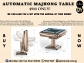 AUTOMATIC MAJHONG TABLE