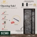 3x7Ft Laminate Main Door and 3x7Ft Main Gate Bundle Deal Singapore