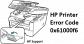 How to Fix HP Printer Error Code 0x61000f6